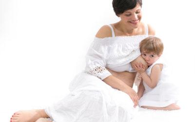 Mini sessioni nella settimana dell'allattamento materno